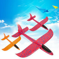 48cm Kids Toy Foam Flying Hand Throw Airplane Outdoor Launch Glider Plane Gifts