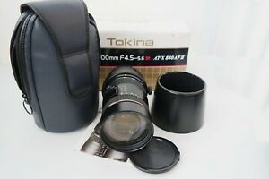 Tokina  AF 80-400mm AF AT-X II  F4.5-5.6 for Canon EF-F fit