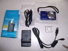 Sony Cyber-shot DSC-W530 14.1MP Digital Camera - Blue Tested