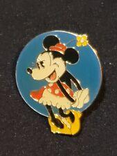 Disney pin Disney Channel 10th Anniversary 1993 vintage Minnie Mouse retro b3