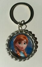 ANNA Disney's FROZEN, Bottle Cap on Key Ring