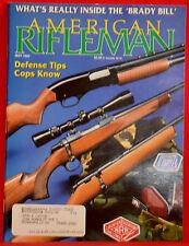 Vintage Magazine American Rifleman, MAY 1993 !!! SAKO Model TRG-S RIFLE !!!