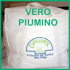 PIUMINO D'oca VERO 100% LETTO SINGOLO 155x200 TIROLO