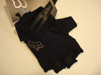 Fox Racing Reflex Gel Short Glove Black (Small)