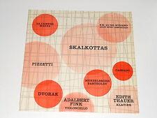 Adalbert Fink - Cello - LP - Recital - PIZZETTI - DVORAK - CASSADO - SKALKOTTAS