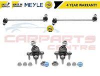 VW CADDY FRONT 2 HD ANTIROLL BAR STABILISER DROP LINKS 2 LOWER BALL JOINTS MEYLE