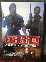 Crime Task Force La Vendetta del Mercenario DVD Nuovo Sigillato Lou Ferrigno