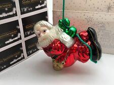 Komozja Verre  Décorations pour Arbre de Noël Santa 15 cm  Produit Neuf