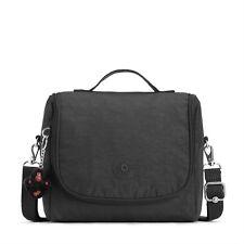 Kipling New Kichirou Lunchbox with Trolley Sleeve TRUE BLACK  RRP £49