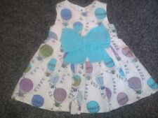 Baby Girls gorgeous summer dress 0-3 Months Excellent Condition