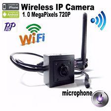 720P HD Mini IP Camera Wifi Ip Micro Camera Wireless Hidden Ip Camera With Audio