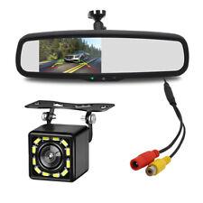 4.3inch TFT Auto Dimming Rear View Mirror Monitors Rear 12 LED Camera Anti-Glare