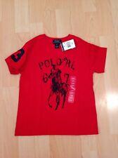 Polo Ralph Lauren Boy's Red Big Pony TShirt For 3 Years BNWT