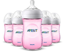 Phillips Avent Natural Bottle 9 Oz Pink - SCF013/58