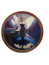 1960 Barbie Solo In The Spotlight, High Fashion Barbie, Danbury Mint Plate