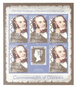 COMMONWEALTH OF DOMINICA 4 SS MNH SCOTT 650 - 653