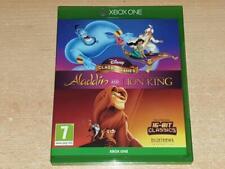 Disney Juegos Clásicos Aladdin Y El Rey León ** GRATIS UK FRANQUEO Xbox One **