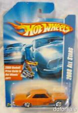 1965 Pontiac GTO 1:64 Scale Die-cast Model From 2008 All Stars by Hot Wheels