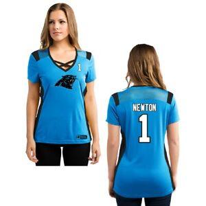 NFL Women's Shirt Carolina Panthers Draft 2016 Cam Newton Women's Girls Ladies