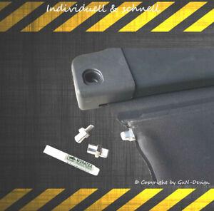 Toyota Avensis T25 Laderaumabdeckung Heckrollo Reparatursatz +Kleber passt f.T25
