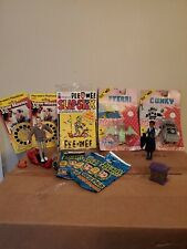 Pee-wee Playhouse Collectibles Bundle, jambi, Reba, scooter, Pterri, Conky, MORE
