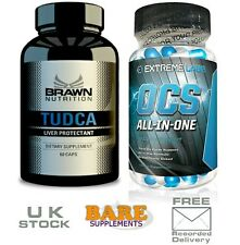 Brawn Nutrition TUDCA 250mg 60 Caps - Liver Support & Extreme Labs OCS