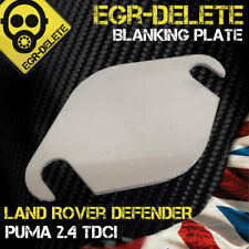 EGR blanking plate  Land Rover DEFENDER Puma  2.4 tdci BHP Performance mpg