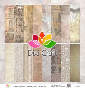 Dixi Craft Nostalgia 12x12 Inch Paper Pack