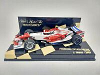 MINICHAMPS 1/43 - Panasonic Toyota RACING TF107 - J. Trulli 2007 Art. 400070012
