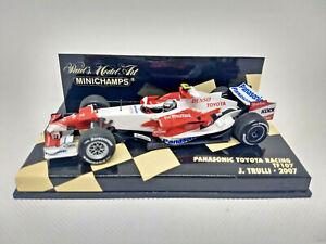 MINICHAMPS 1/43 - Panasonic Toyota Racing TF107 - J.Trulli 2007 Art. 400070012