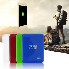 Portable USB 4AA Battery Emergency Charger Power Bank Case For Cell Phone WF
