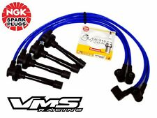 10.2 MM BLUE SPARK PLUG WIRES & NGK PLATINUM SPARK PLUGS FOR 95-98 NISSAN SENTRA