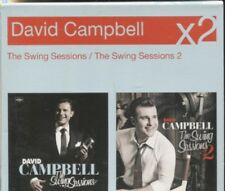 DAVID CAMPBELL - THE SWING SESSIONS & THE SWING SESSIONS - 2 CD'S - BOXED SET