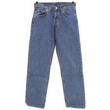 #5003 levis señores Jeans Hose 517 0414 Denim sin Stretch Blue used azul 30/30