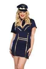Airline Pilot Up In The Air Plus Size Adult Women Costume