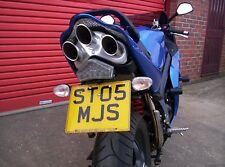 TRIUMPH SPRINT ST 2005 R&G Number / Licence Plate Holder TAIL TIDY LP0013BK