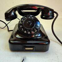 Antico Telefono siemens da tavolo, anni 40' in bachelite lucida