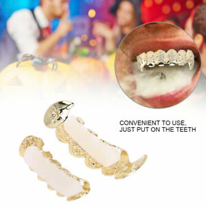Fashion Grillz Teeth Set Hip Hop Decoration For Halloween Party Gift Trend