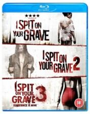 I Spit On Your Grave Trilogy 1 2 3 (Robert Cummings) Reg B Blu-ray
