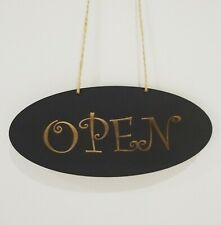 Open / Closed Shop hanging door Sign shop sign 3mm MDF double sided