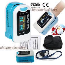 OLED FingerTip Pulse Oximeter Blood Oxygen SpO2 Saturation PR Heart Rate Monitor