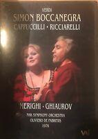 VERDI - SIMON BOCCANEGRA NEW DVD