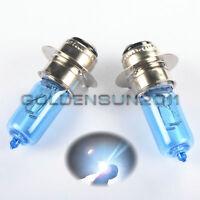 2X H6 H6M P15D LED Super White SportMax ATV Headlight Bulbs TRX450R YFM 400EX LT