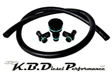 PCV Reroute Kit for 2004.5-2010 Chevy GMC 6.6l Duramax LLY LBZ LMM