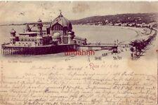 1898 FRANCE, NICE - LA JETEE PROMENADE postmarked NICE ALPES MARITIMES FEVR 98