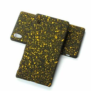 Cell Phone Case Protective Bumper Frame For Sony Xperia Z5 3D Stars Yellow