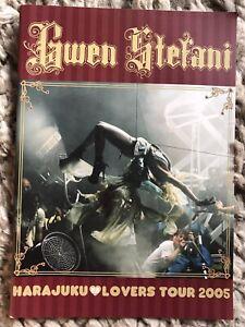 GWEN STEFANI Harajuku Lovers TOUR CONCERT PROGRAM BOOK NO DOUBT
