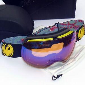 NEW Dragon APXs Goggles-Migraine/Blue Ionized Lens -Snow/Ski/Ion 722-4082