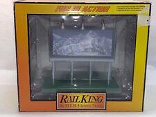 MTH RailKing 30-90221 Coors Light Lighted Billboard NEW O Gauge OB