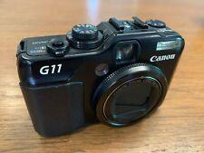 Canon PowerShot G11 10MP Compact Digital Camera - Black
